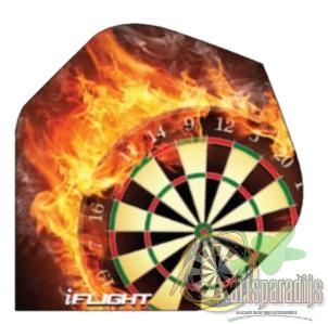 I-Flight Flaming Dartbord