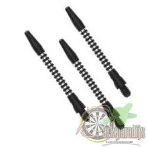 Aluminium shafts zwart AR5 Medium
