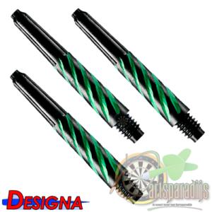 Spiroline Nylon Shaft Zwart-Groen Short