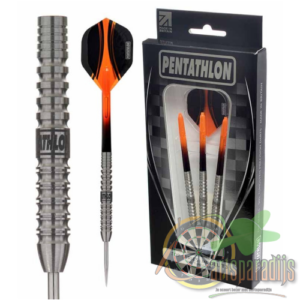Pentathlon dartpijlen T3 orange edition.