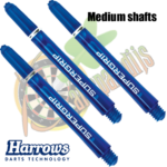 Harrows Supergrip Bleu medium Shafts