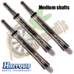 Harrows Supergrip Smoke Medium Shafts
