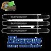 Harrows Supergrip Black medium Shafts