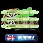 Winmau prism shafts medium groen