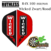 Ruthles R4X Wicked Zwart-Rood