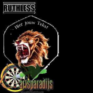 Ruthles Flights Brullende leeuw met je eigen tekst