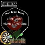 Ruthles R4X Bedrukt met Tekst en afbeelding