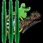 Nylon Shafts Groen Bedrukt
