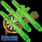 Harrows Supergrip Green medium Shafts