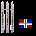 Shafts met de vlag van Groningen
