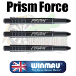 Winmau prism Force Shafts Zwart