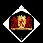 Flights met het Provincie wapen van Zuid-Holland