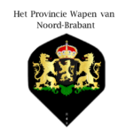 Flights met het Provincie wapen van Noord-Brabant