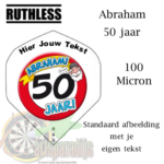 Ruthles Flights 50 Abraham met eigen tekst