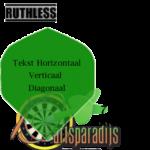 Ruthles Flights Bedrukt Groen
