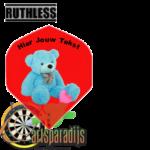 Ruthles Flights Teddy Beer met eigen tekst