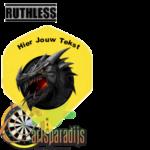 Ruthles Flights Zwarte Draak met eigen tekst