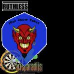 Ruthles Flights Devil Face met eigen tekst