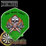 Ruthles Flights Doodshoofd met eigen tekst