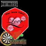 Ruthles Flights Love met eigen tekst