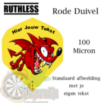 Ruthles Flights Rode Duivel met eigen tekst