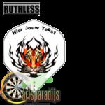 Ruthles Flights Tijger Tribal met eigen tekst