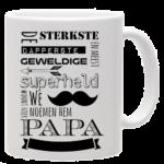 Vaderdag Mok Papa Superheld