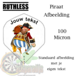 Piraten afbeelding met je eigen tekst