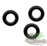 Rubberen ringetjes voor aluminium shafts 2 setjes