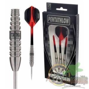 Pentathlon dartpijlen 90% T1 red edition