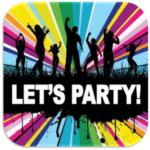 Bierviltje verjaardag Lets Party