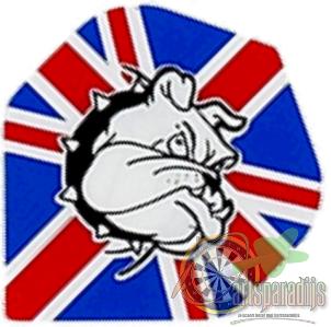 Ruthles R4X Engelse Vlag met Buldog