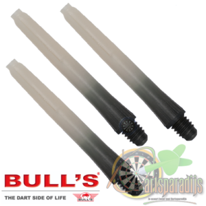 Two-Tone shafts Zwart-Wit Short