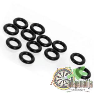 Rubberen ringetjes voor aluminium shafts 8 setjes