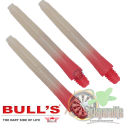 Two-Tone shafts Rood-Wit Short