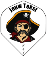 Piraat met je eigen tekst