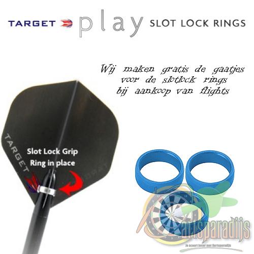 Target Pro Grip Slotlock Ring Blauw