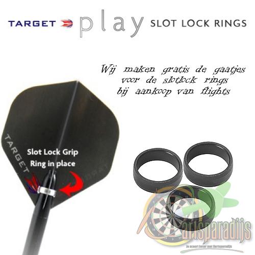 Target Pro Grip Slotlock Ring Zwart