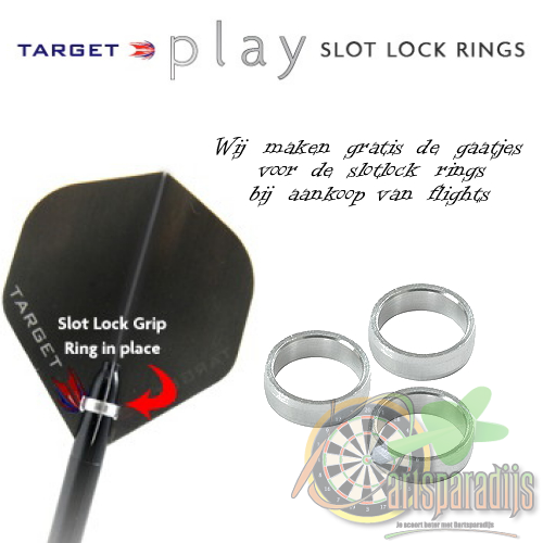 Target Pro Grip Slotlock Ring Zilver
