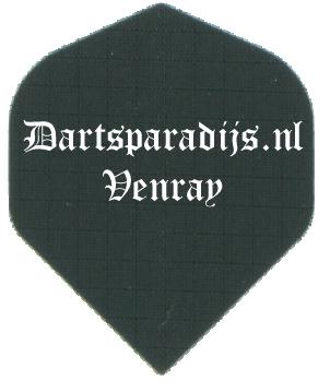 Dartsparadijs Linnen Longlife Flights bedrukt met tekst